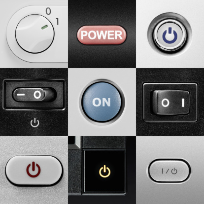 Turning On Or Off「Various power buttons and switches」:スマホ壁紙(5)
