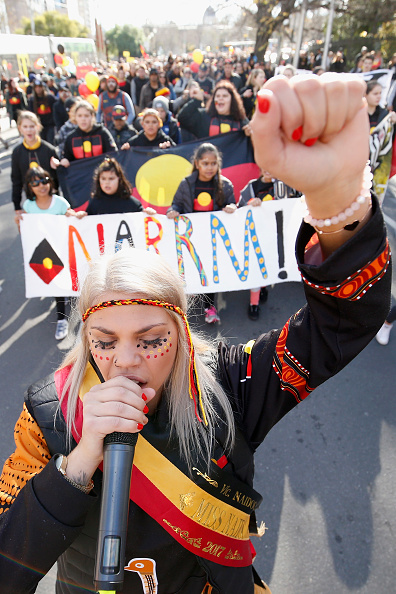 Darrian Traynor「Hundreds Of Melburnians Turn Out For NAIDOC March 2017」:写真・画像(19)[壁紙.com]