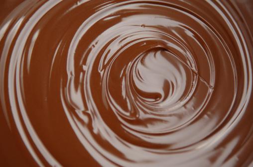 アイシング「チョコレートの渦巻き」:スマホ壁紙(17)