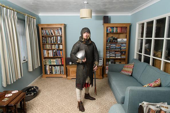 Historical Reenactment「Re-enactors Prepare For The Battle Of Hastings For 950th Anniversary」:写真・画像(12)[壁紙.com]