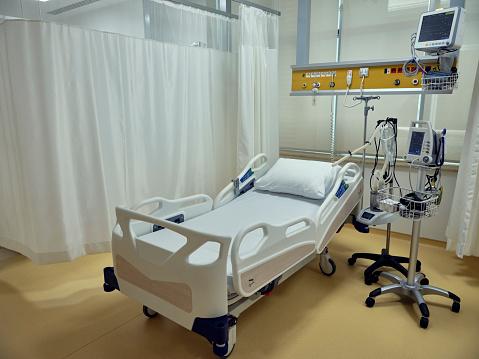 Healing「Empty bed in the emergency room.」:スマホ壁紙(8)