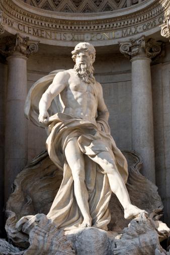Piazza di Trevi「Trevi fountain in Rome」:スマホ壁紙(11)