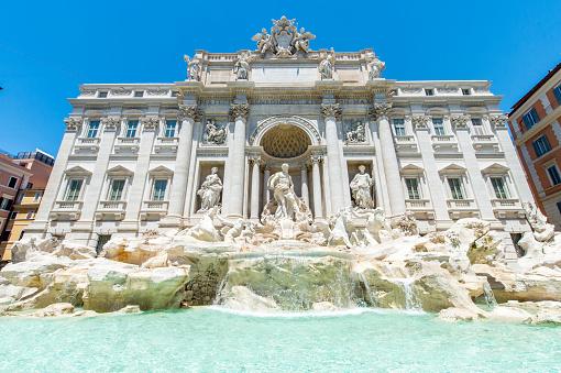 Piazza di Trevi「Trevi Fountain」:スマホ壁紙(10)