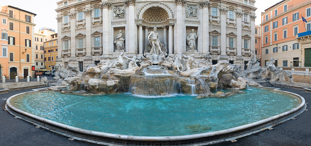 Piazza di Trevi「Trevi Fountain, Rome」:スマホ壁紙(15)