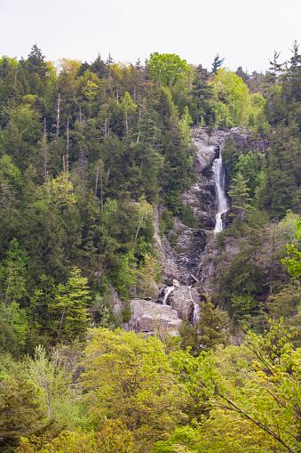Adirondack Forest Preserve「Roaring Brook Falls, St. Hubert, NY」:スマホ壁紙(10)