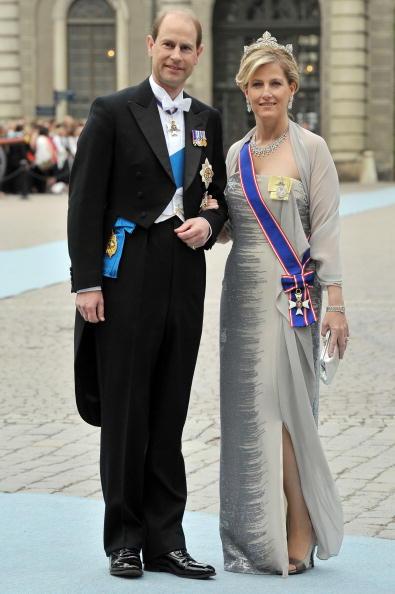 Countess Of Wessex「Wedding Of Swedish Crown Princess Victoria & Daniel Westling: Arrivals」:写真・画像(3)[壁紙.com]