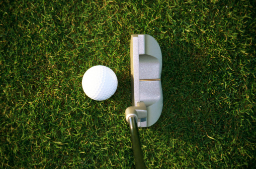 Putting - Golf「golf club and -ball」:スマホ壁紙(19)