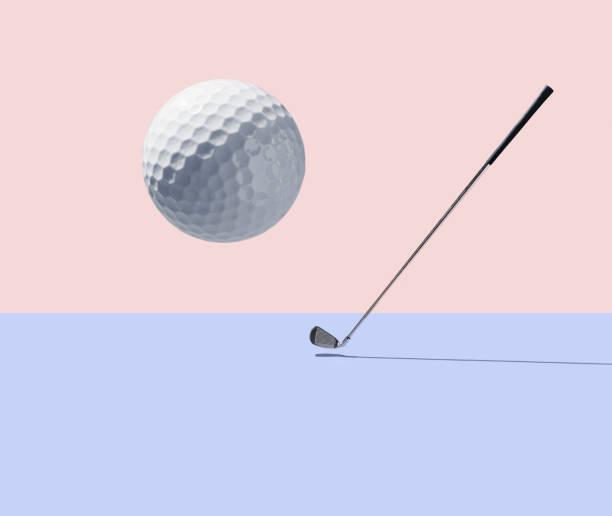 Golf club and golf ball:スマホ壁紙(壁紙.com)