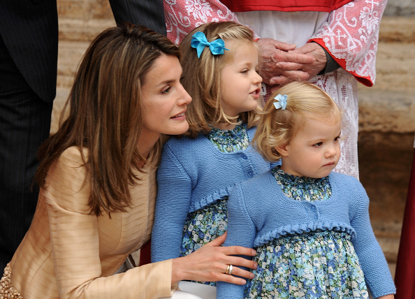 Palma Cathedral「Spanish Royals Attend Easter Mass in Mallorca」:写真・画像(7)[壁紙.com]