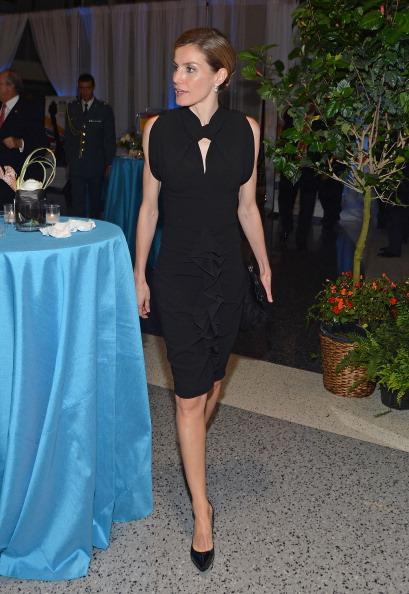 Black Color「Prince Felipe And Princess Letizia Of Spain Visit Jersey City - June 22, 2012」:写真・画像(2)[壁紙.com]