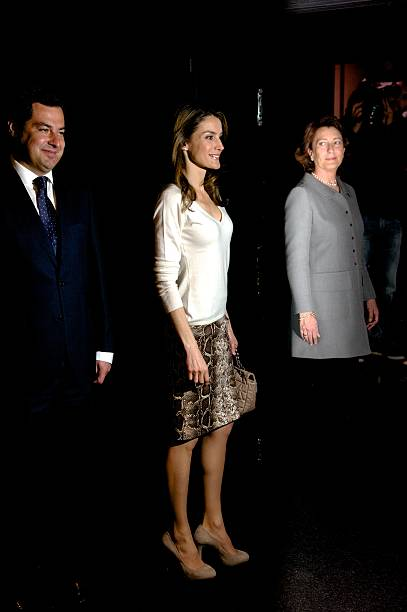 Princess Letizia of Spain Attends the Launch of 'Mision 60  Aniversario' Campaign Against Cancer:ニュース(壁紙.com)