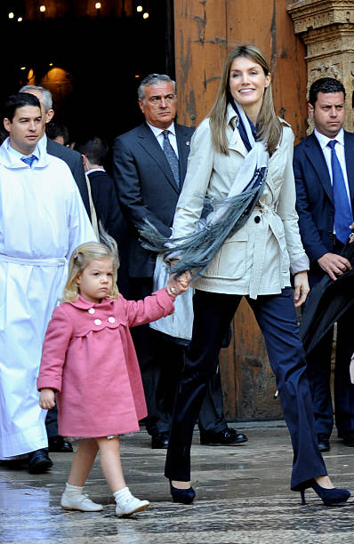 Spanish Royal Family attends Easter Mass in Mallorca:ニュース(壁紙.com)