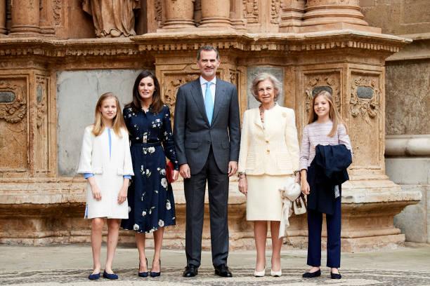 Spanish Royals Attend Easter Mass In Palma De Mallorca:ニュース(壁紙.com)
