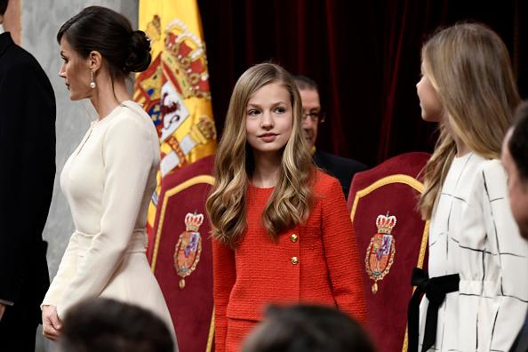 Leonor - Princess of Asturias「Spanish Royals Attend the 14th Legislative Sessions Opening」:写真・画像(5)[壁紙.com]