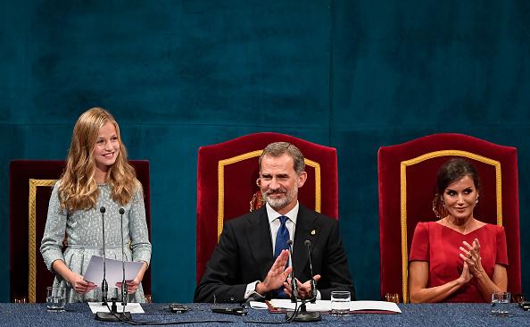 Leonor - Princess of Asturias「Ceremony - Princess of Asturias Awards 2019」:写真・画像(8)[壁紙.com]