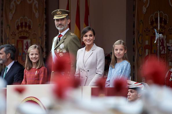 Leonor - Princess of Asturias「Spanish Royals Attend The National Day Military Parade」:写真・画像(9)[壁紙.com]