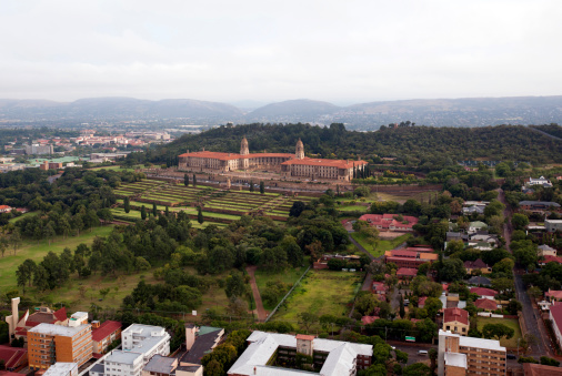 Pretoria「High angle view of government building, union buildings, Gauteng Province, South Africa」:スマホ壁紙(4)