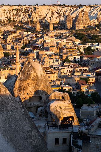UNESCO「High angle view of cityscape in Greme city, Cappadocia」:スマホ壁紙(9)
