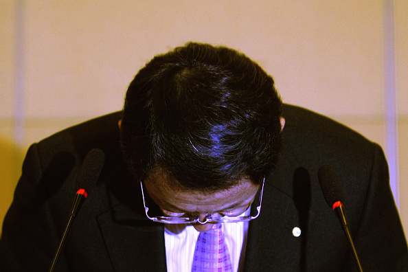 Transparent「Toyota President And CEO Akio Toyoda Attends A News Conference In Beijing」:写真・画像(8)[壁紙.com]