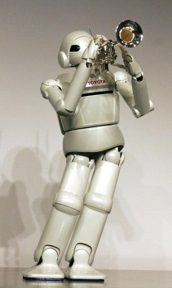 楽器「Toyota Unveils Newly Developed Robots」:写真・画像(14)[壁紙.com]