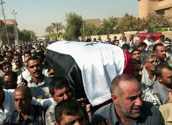 Iraqi Governing council「Iraq Buries Assasinated Governing Council Member Aquila al-Hashimi」:写真・画像(19)[壁紙.com]