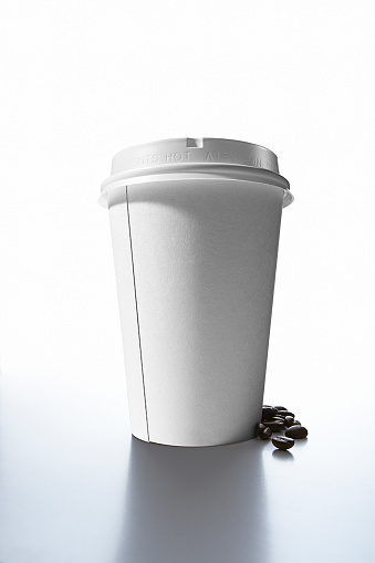 Disposable Cup「Coffee beans and paper cup」:スマホ壁紙(11)