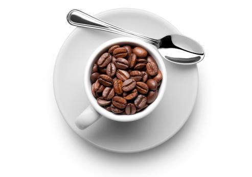 Coffee Break「Coffee beans in the cup」:スマホ壁紙(2)