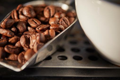 コーヒー「coffee beans」:スマホ壁紙(14)