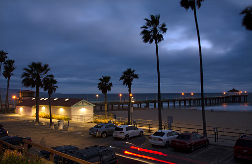 Manhattan Beach「Manhattan Beach Evening」:スマホ壁紙(11)