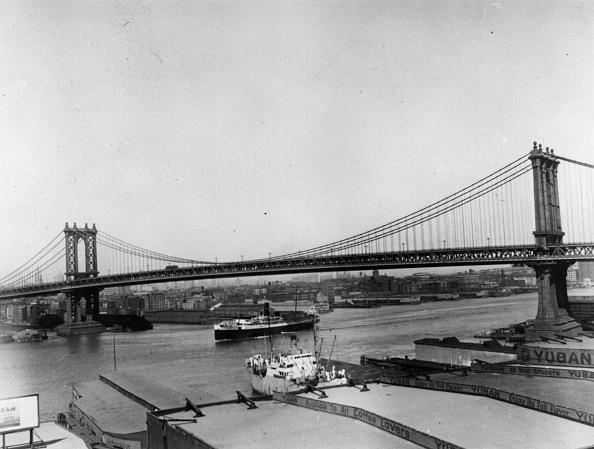Lower East Side Manhattan「Manhattan Bridge」:写真・画像(13)[壁紙.com]