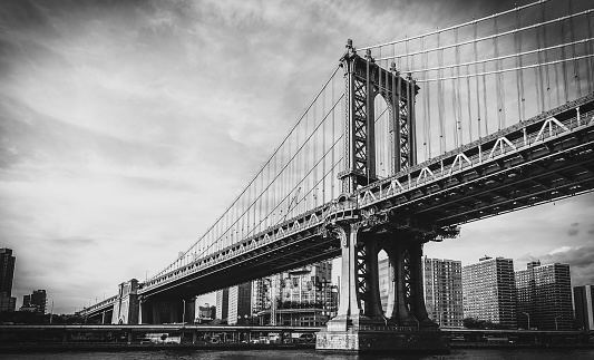 Lower East Side Manhattan「Manhattan Bridge, New York City」:スマホ壁紙(16)
