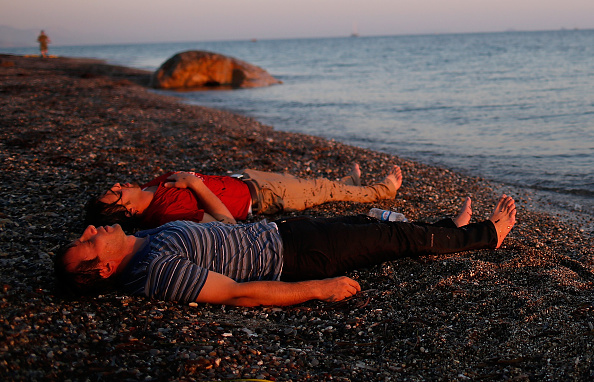 Mediterranean Sea「Migrants Arrive On The Beaches Of Kos In Greece」:写真・画像(10)[壁紙.com]
