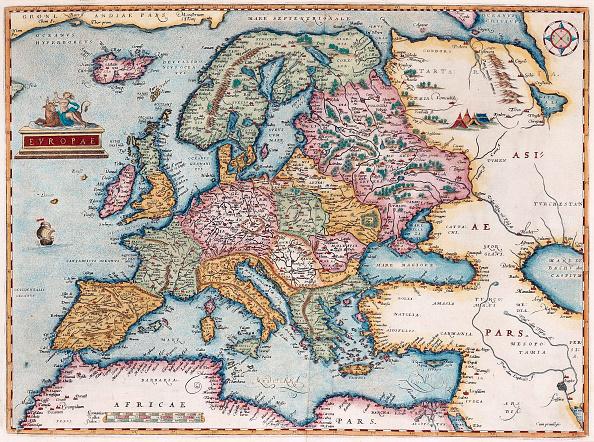 Europe「Europae (From: Theatrum Orbis Terrarum)」:写真・画像(17)[壁紙.com]