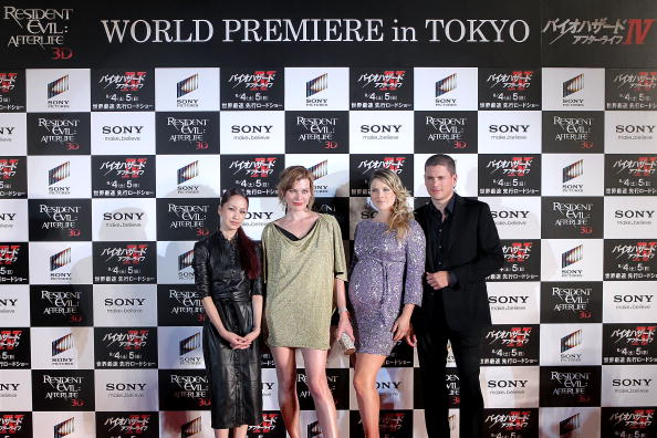 中島 美嘉「'Resident Evil: Afterlife' Japan Premiere」:写真・画像(10)[壁紙.com]