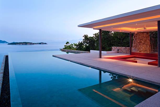 Island Villa At Sunrise:スマホ壁紙(壁紙.com)