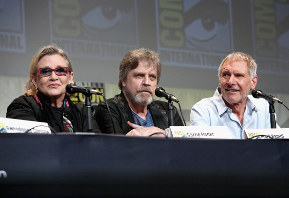 Star Wars Series「Star Wars: The Force Awakens Panel At San Diego Comic Con - Comic-Con International 2015」:写真・画像(19)[壁紙.com]