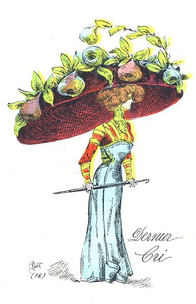Edwardian Style「Hat of enormous proportion」:写真・画像(3)[壁紙.com]