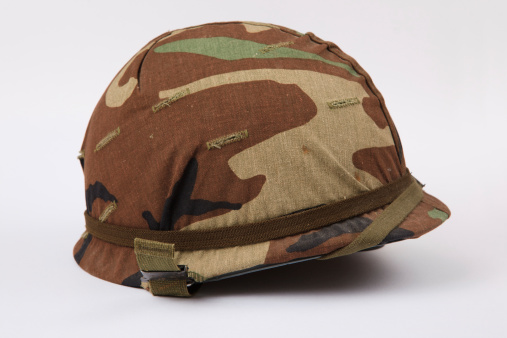 ミリタリー「米国軍用ヘルメット」:スマホ壁紙(3)