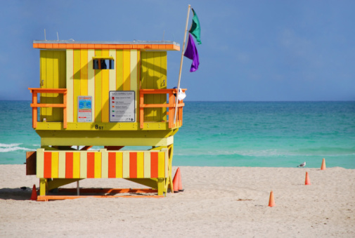 Lifeguard「Funky Lifeguard Station, 8 st South Beach」:スマホ壁紙(8)