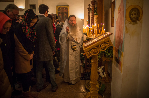 Religious Mass「Christmas is Celebrated By Russian Orthodox Christians In London」:写真・画像(18)[壁紙.com]