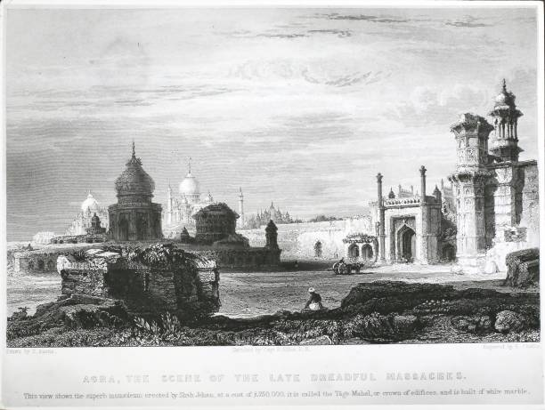 War 1857 Indian Mutiny Camp (Ind) Agra:ニュース(壁紙.com)
