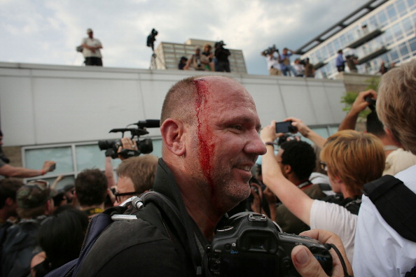 Scott Olson「Demonstrators Protest The NATO Summit In Chicago」:写真・画像(6)[壁紙.com]