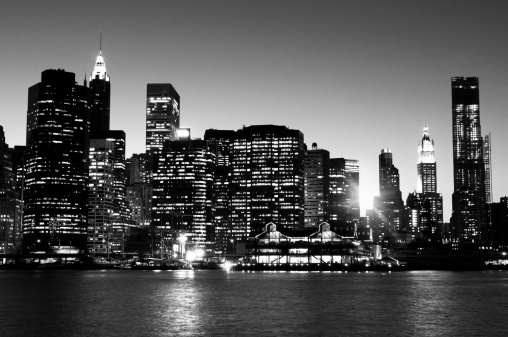 1960-1969「NYC Skyline at Sunset.」:スマホ壁紙(8)