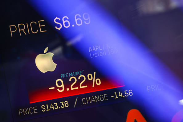 Economy「Apple's Warning On Revenue Forecast Sends Markets Down」:写真・画像(17)[壁紙.com]