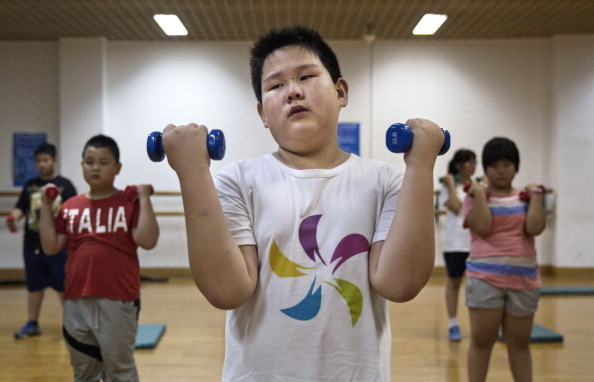 Heavy「Chinese Students Attend Summer Camp For Overweight Kids」:写真・画像(12)[壁紙.com]