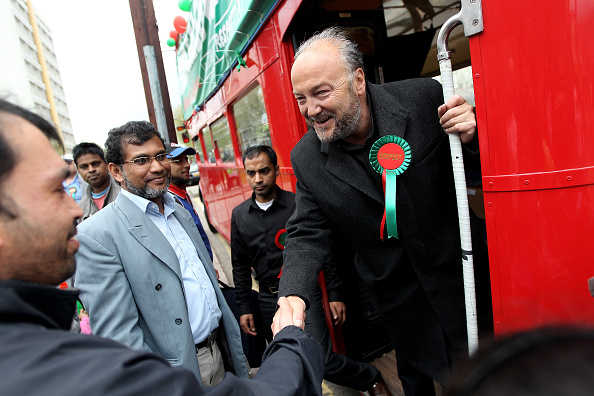 Dan Kitwood「George Galloway Leads The Respect Party Campaign Around East London」:写真・画像(3)[壁紙.com]