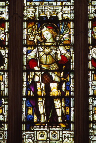 Stained Glass「St. Alban In  West Window Of Hereford Cathedral」:写真・画像(15)[壁紙.com]