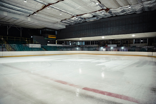 Ice Hockey Rink「Empty Ice Rink」:スマホ壁紙(3)