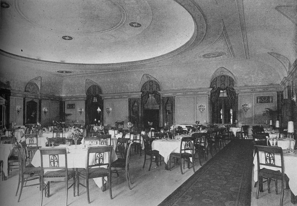 Dining Room「The Directoire Dining Room, Belmont Hotel, Chicago, Illinois, 1924」:写真・画像(15)[壁紙.com]