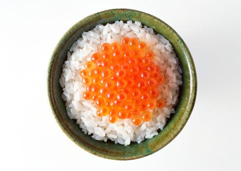 Japanese Food「Rice on Salmon Roe」:スマホ壁紙(7)